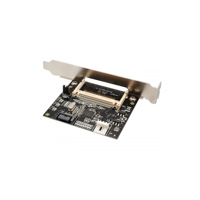 Syba SD-ADA40001 Compact Flash to SATA II Adapter Card with PCI Mounting Bracket