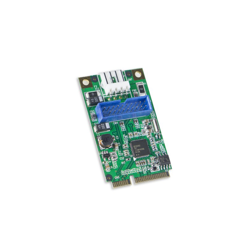 Syba SD-MPE20142 USB 3.0 19 Header Mini PCI-e 2.0 Card