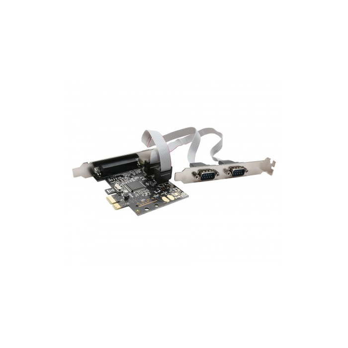 Syba SD-PEX50030 2 Port DB9 Serial and 1 Port DB25 Parallel PCI-e x1 Card