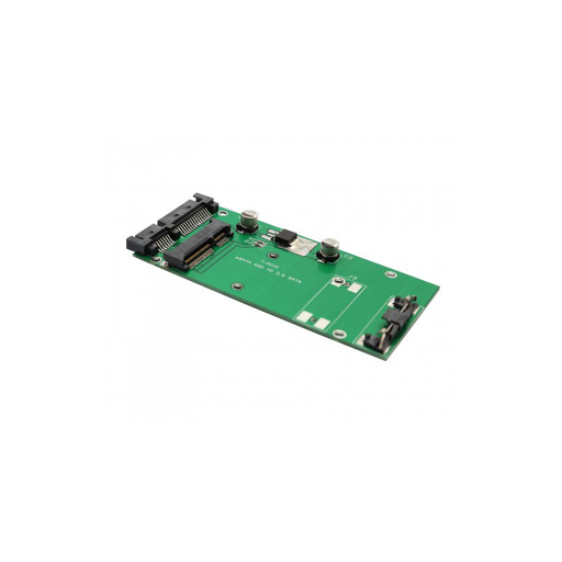 "Syba SI-ADA40067 70mm mSATA SSD to 2.5"" SATA III Adapter"