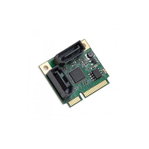 Syba SI-MPE40095 Half Height 2 Port SATA III RAID Mini PCI-e 2.0 Card