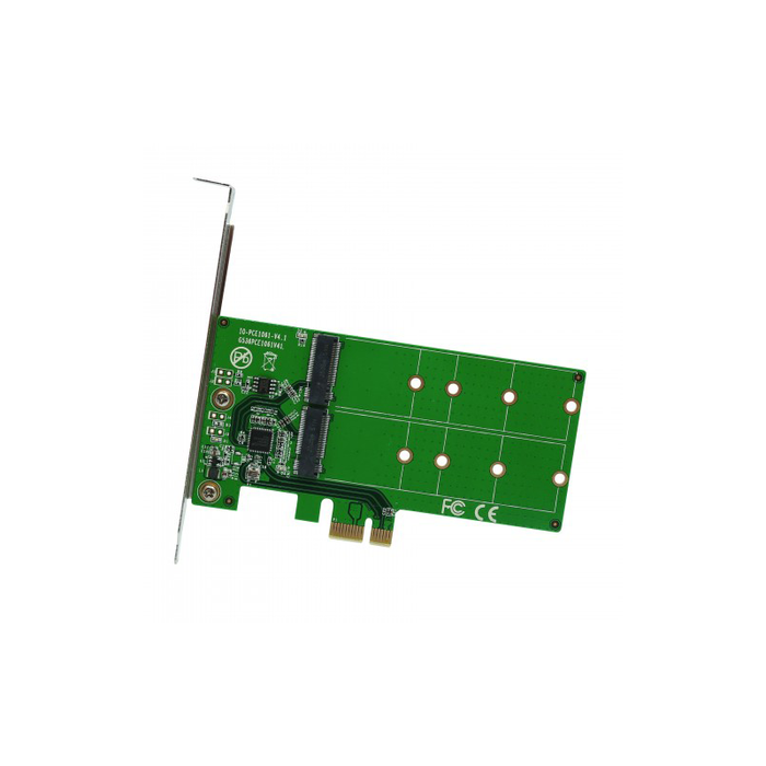 Syba SI-PEX40115 2 Port M.2 to PCI-e x1 adapter B or B+M key