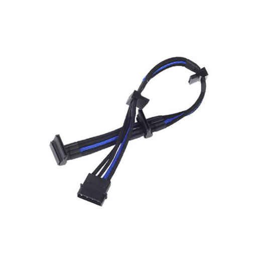 Silverstone PP07-BTSBA Sleeved Extension Power Supply Cable