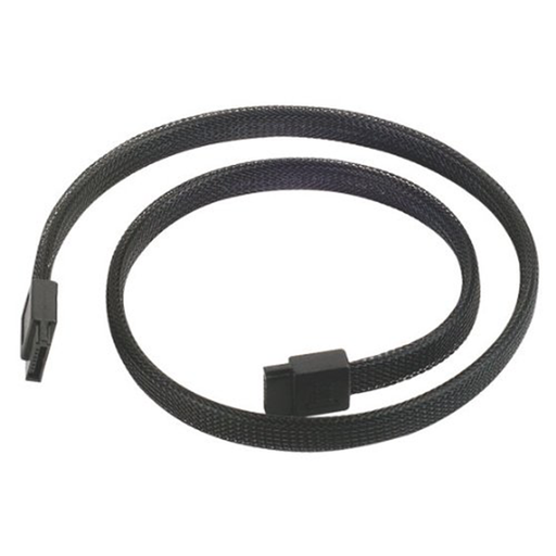 Silverstone CP07 180 Degree SATA III Cable with Non-Scratch Locking Mechanism
