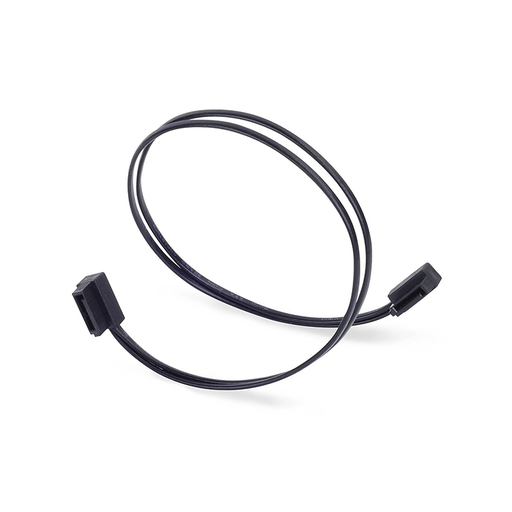Silverstone CP11B-500 Ultra Thin 6Gb/s Lateral 90-Degree SATA Cable