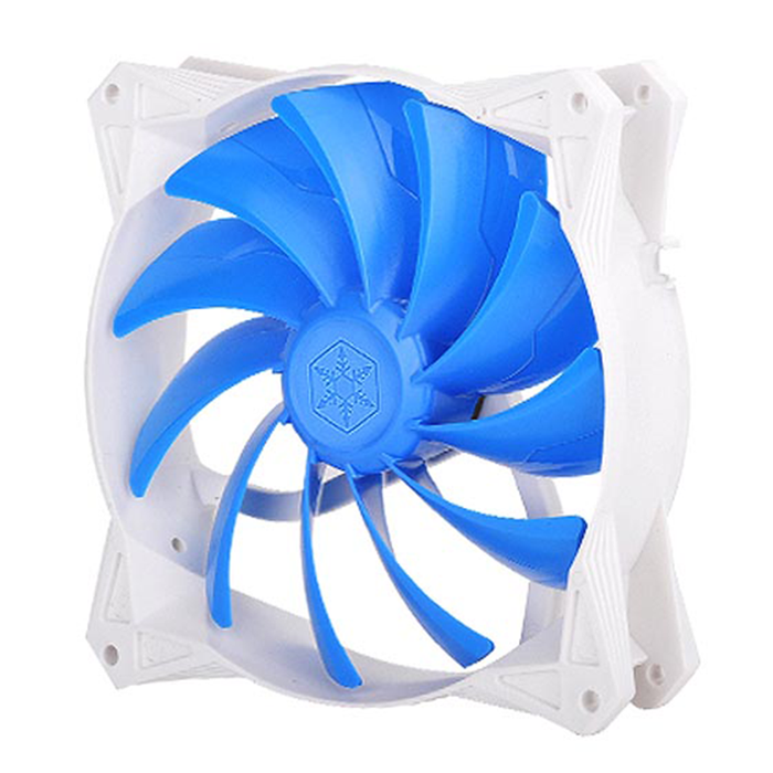 Silverstone FQ91 92mm Ultra-Quiet PWM Fan with Anti-Vibration Rubber Pads Cooling