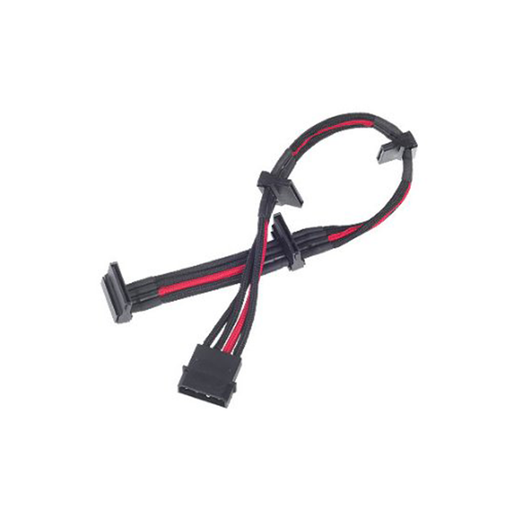 Silverstone PP07-BTSBR Sleeved Extension Power Supply Cable