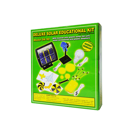 Elenco SK-40 Deluxe Solar Educational Kit