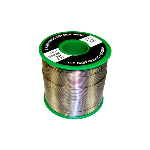 "Velleman SOLD500G8LF Lead Free Solder Sn 99.3% - Cu 0.7% 0.03"" 1.10lbs."