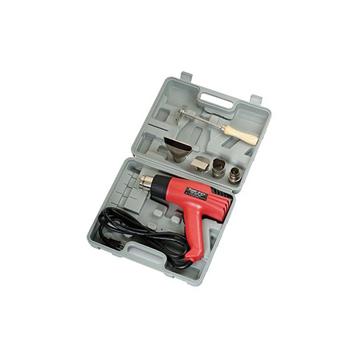 Pro'sKit SS-611A Heat Gun with Accessories in Blow Molded Case