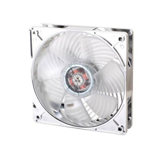 SilverStone AP121-RL Air Channeling Case Fan with Red LED Light