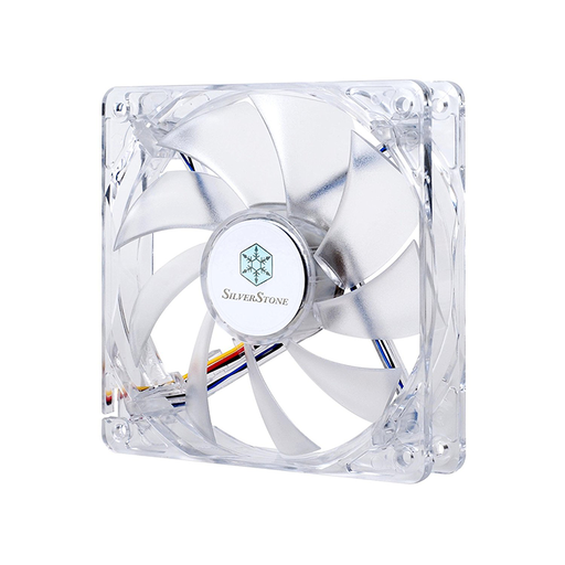 Silverstone FN121-P-RL 120mm High Airflow and Less Noise with 9-Bladed Design Computer Case Fan