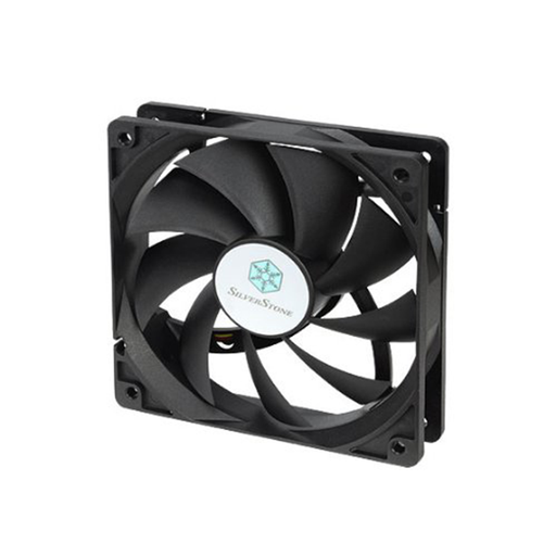 Silverstone FN121-P 120mm High Airflow and Less Noise with 9-Bladed Design Computer Cooling Case Fan