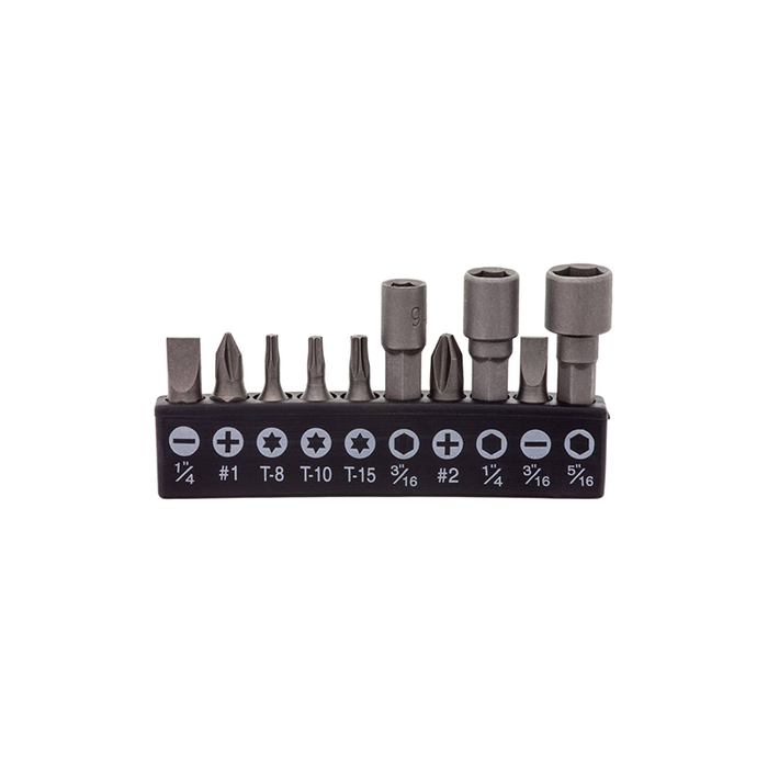 Elenco ST-75 11 pc. Screwdriver Bit Socket Set