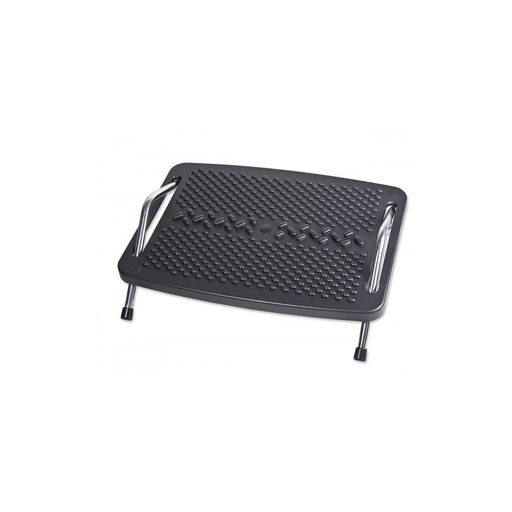 Syba SY-ACC65065 Foot Rest with Metal Support, Ergonomic Design, Comfortable Massage Function, Tilt Angle Slides