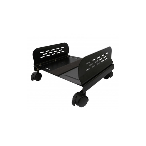 Syba SY-ACC65079 Metal CPU Stand with Adjustable Width and Caster Wheels