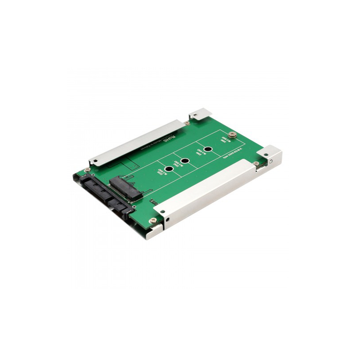 "Syba SY-ADA40087 M.2 (NGFF) SSD to SATA III 2.5"" Enclosure Adapter"
