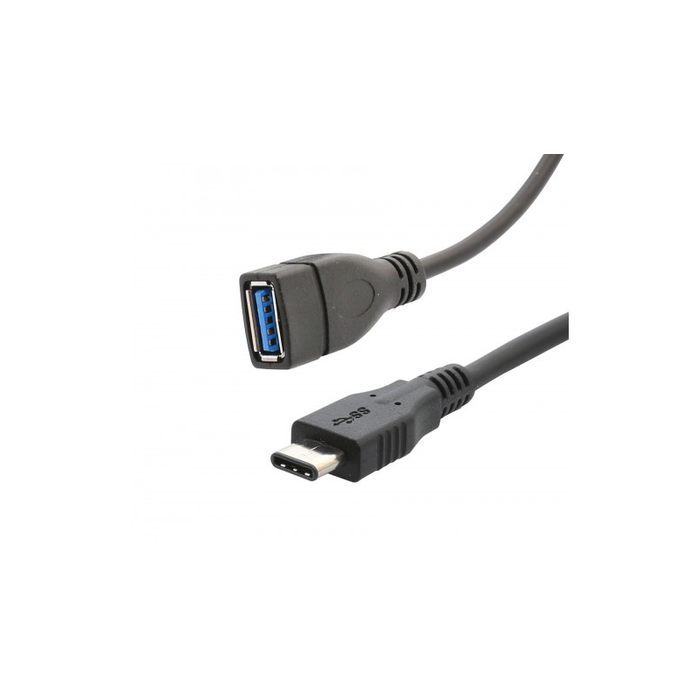 Syba SY-CAB20171 3 ft USB 3.1 Type C Male to Type A Female Cable