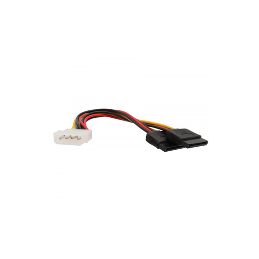 "Syba SY-CAB40007 5"" Molex to Dual SATA Power Connector Cable"