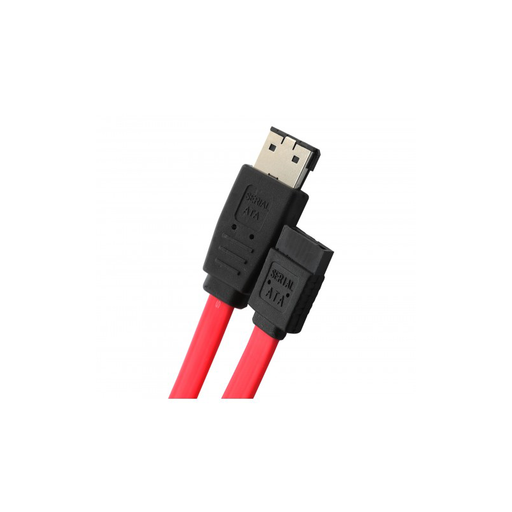 "Syba SY-CAB40019 19"" SATA to eSATA Cable, Red Color"