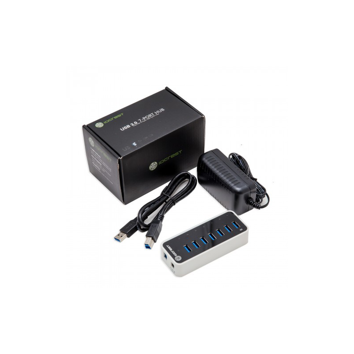 Syba SY-HUB20152 7 Port USB 3.0 Hub with One Fast Charging Port