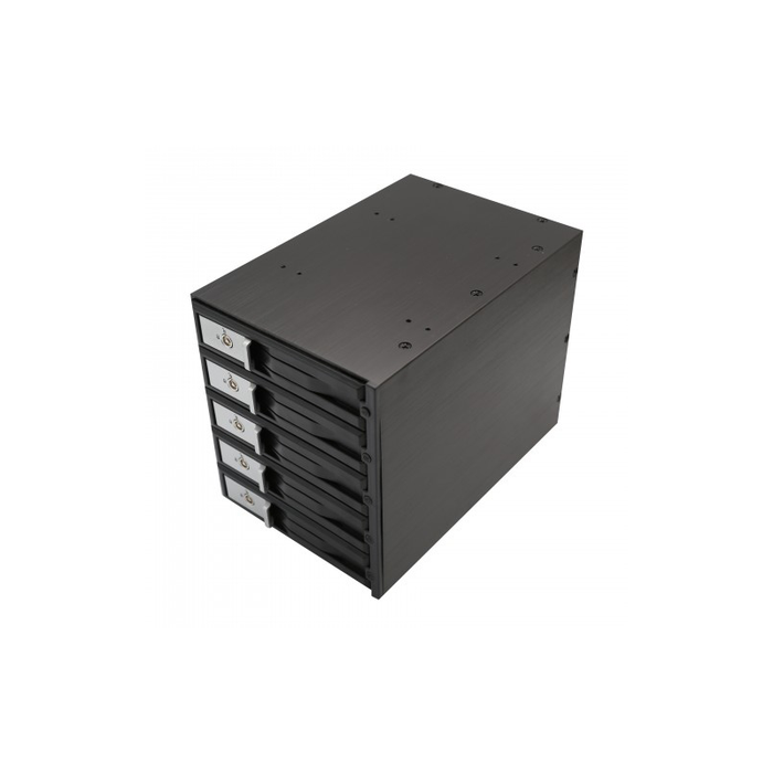 "Syba SY-MRA35031 3.5"" 5-Bay SATA/SAS HDD Internal Enclosure"