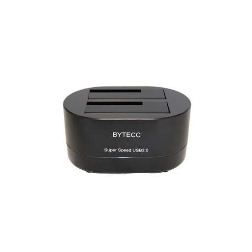 "Bytecc T-320  USB 3.0 SuperSpeed to Dual SATA Docking Station, Works w/ 2.5"", 3.5"" HDD SATA Drives"