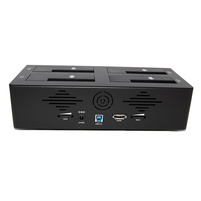 Bytecc T-400 USB 3.0 & eSATA to 4 Bay SATA Docking with Stand Alone 1:3 HDD/SSD Duplicator