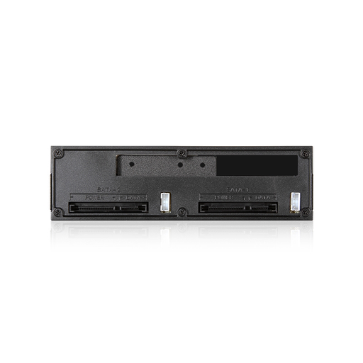 "iStarUSA T-5K225T-SA Trayless 5.25"" to Slim ODD and 2x 2.5"" SATA 6 Gbps HDD SSD Hot-swap Rack"