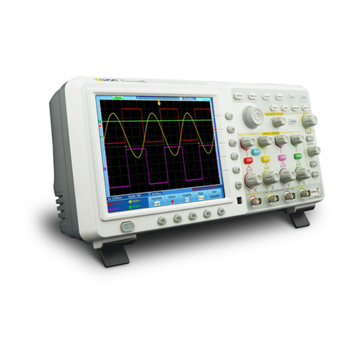 Owon TDS8204 200MHz, 2GS/s, 7.6Mpts, 4 Channel Touch Screen Digital Serial Oscilloscope