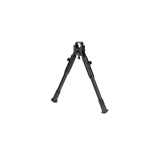 "UTG TL-BP08S-A New Gen Reinforced Clamp-on Bipod, Cent Ht 8.7""-10.2"""