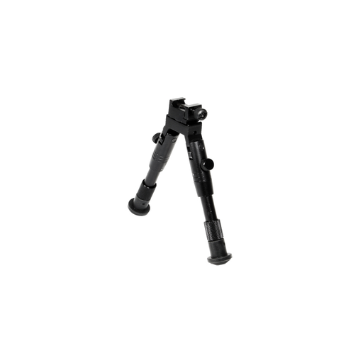 "UTG TL-BP28S Shooter's SWAT Bipod, Rubber Feet, Height 6.2""-6.7"""