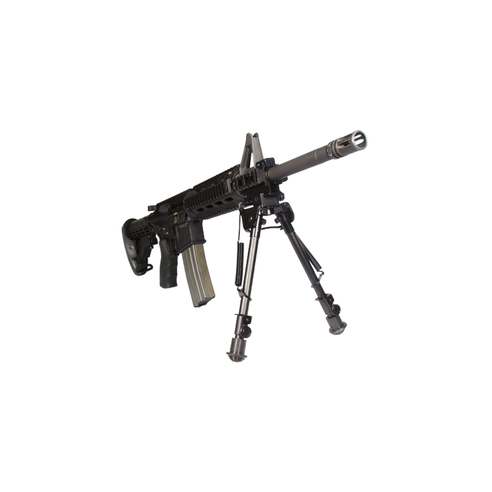 "UTG TL-BP88 Tactical OP Bipod, Rubber Feet, Center Height 8.3""-12.7"""