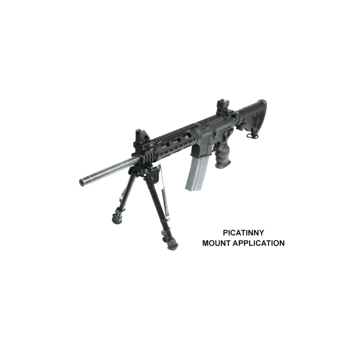 UTG TL-BP88Q Tactical OP Bipod, QD Lever Mount, Height 8.0-12.4""