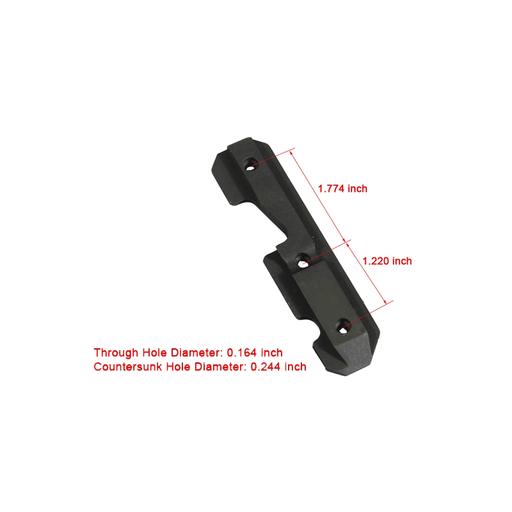 UTG TL-M47SR AK47 Steel Dovetail Side Plate
