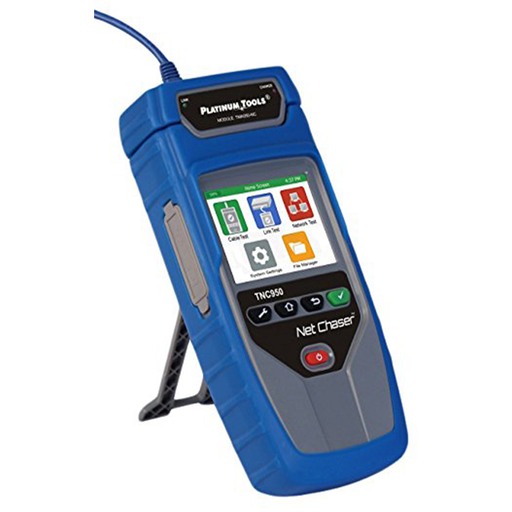 Platinum Tools TNC950AR Net Chaser Ethernet Speed Certifier, Blue/Grey