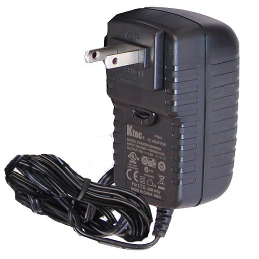 Platinum Tools TPS120 Platinum AC to DC Power Supply: 12V 2.5A with Intl Adapter Plugs for (NA, EU, AU, UK)
