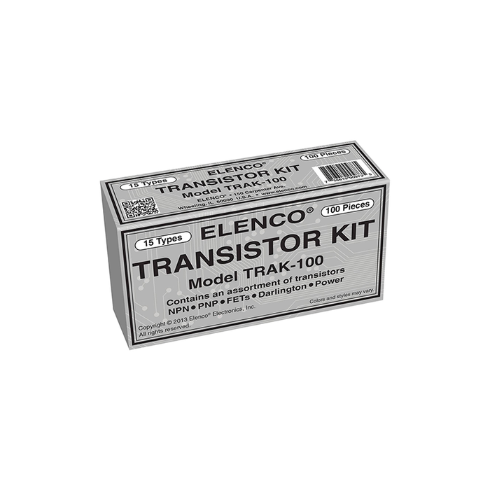Elenco TRAK-100 100pc. Transistor Kit