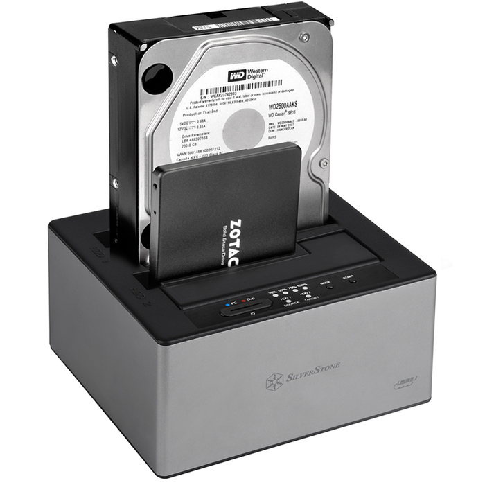 SilverStone TS12C Hard Drive Docking Station