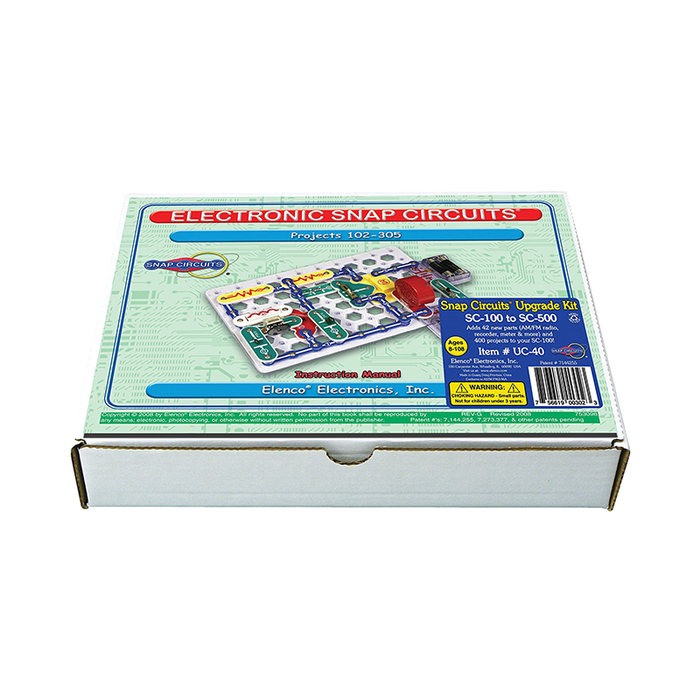 Elenco Snap Circuits UC-40 Upgrade Kit SC-100 to SC-500