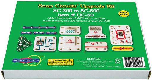 Elenco Snap Circuits UC-50 Upgrade Kit SC-300 to SC-500