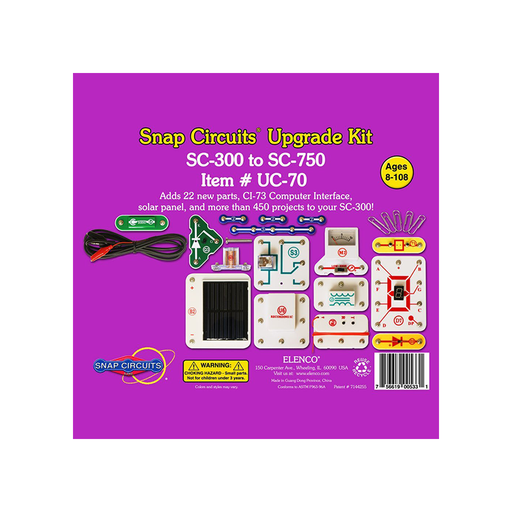 Elenco Snap Circuits UC-70 Upgrade Kit SC-300 to SC-750