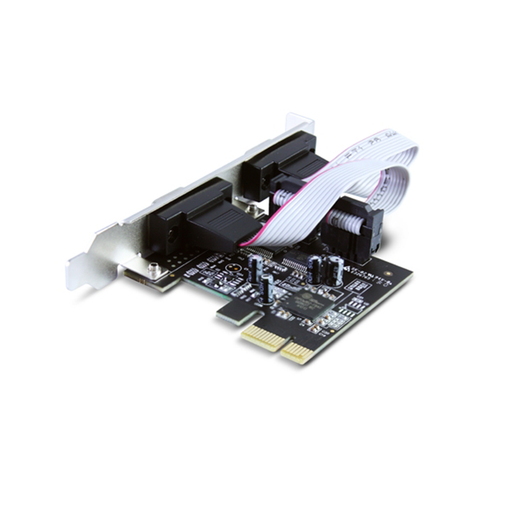 Vantec UGT-PCE20SR 2-Port Serial PCIe Host Card