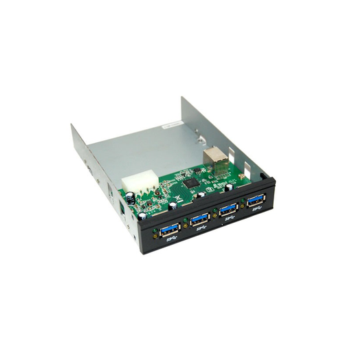 "Bytecc UH-430 Super-Speed USB 3.0 4-ports Internal 3.5"" Bay HUB"