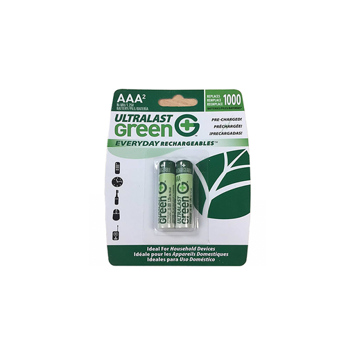 DANTONA ULTRALAST GREEN - ULGED2AAA - NIMH BATTERY, 1.2V, 750mAH