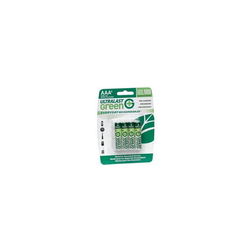 Dantona UltraLast Green ULGED4AAA Battery - AAA - NiMH