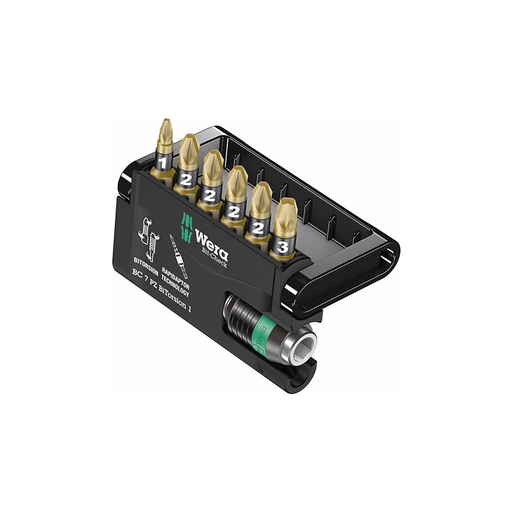 Wera 05340260001 PoziDriv BitCheck set