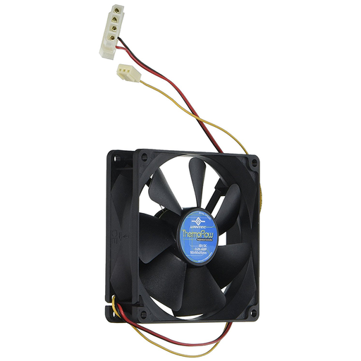 Vantec TF9225 Thermoflow Double Ball Bearing Temperature Controlled Case Fan