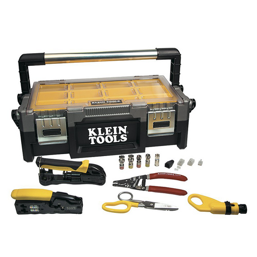 Klein Tools VDV001-833 VDV ProTech Data and Coaxial Kit
