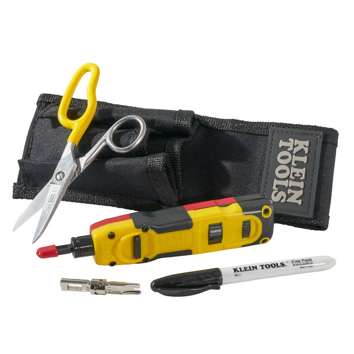 Klein Tools VDV027-813 LAN Punchdown Installer Starter Kit